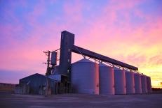 Dookie silos, Australia