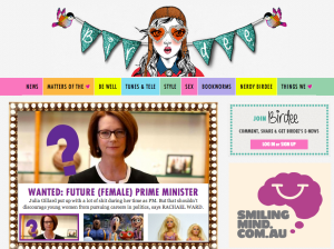 Birdeemag.com homepage