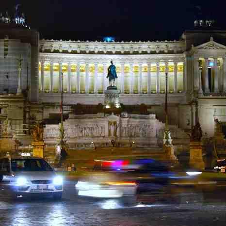 """The Altare della Patria also known as the Monumento Nazionale a Vittorio Emanuele II or """"Il Vittoriano"""" or Victor Emmanuel Monument"""