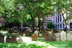 Graveyard of Trinity Church.
