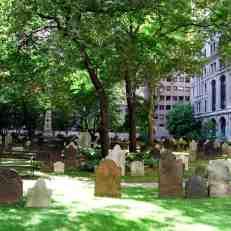 Graveyard of Trinity Church.