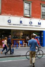 Grom, the famous Italian ice-cream