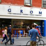 Grom, the famous Italian ice-cream