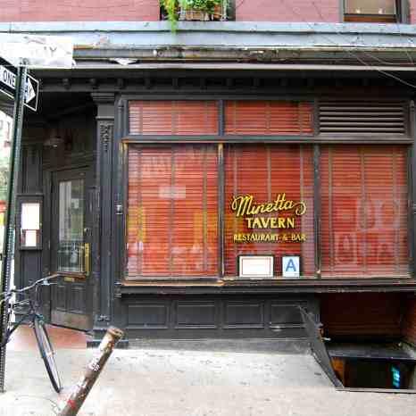 Minetta Tavern, hangout of Ernest Hemingway