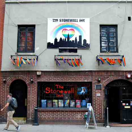 The Stonewall Inn -- the start of the movement for gay rights