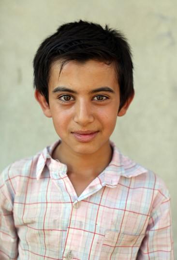 Abdul Kader, 12, he wants to Blacksmith like his father.