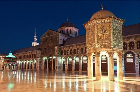 The Umayyad Mosque in Damascus, Syria. (Photo: Suzy Bennett / Alamy)