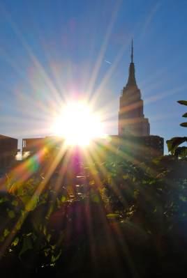 Empire State Building sunrise