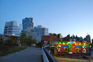 Early morning photo walk on the High Line