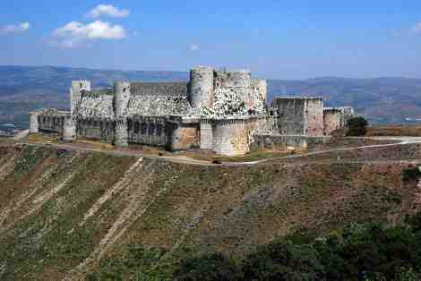 Krak des Chevaliers (Photo source: Wikipedia)