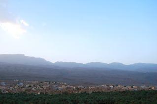 View across the oasis to Al Hamra