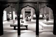 Through the Indian doors