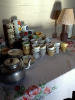 Generations of crockery.