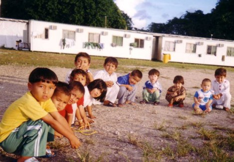 Children at Nauru Detention Centre (Photo: Asylum Seeker Resource Centre)