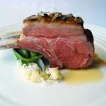 Flinders Island lamb, cauliflower, nettle, saltbush and espelette