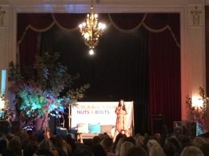 Danielle La Porte on stage.