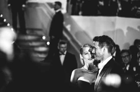 Blake Lively Ryan Reynolds Cannes 2014
