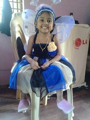 Febrina refugee child