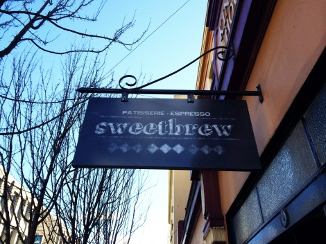 Sweetbrew cafe, Launceston