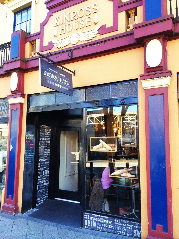Sweetbrew cafe, George Street, Launceston