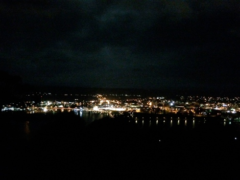 Launceston by night