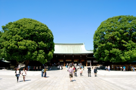 Meiji Shrine (明治神宮, Meiji Jingū), Tokyo, Japan