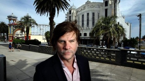 """Dark horse: Musician Tex Perkins at the Palais Theatre in St Kilda will be running in the state election"". (Photo: Angela Wylie via The Age)"