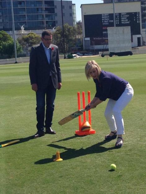 Labor Junction Oval revamp to win back Sheffield Shield (Via Annika Smethurst Twitter)