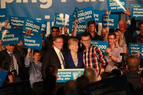 Thanks Ballarat for hosting Liberal Victoria Regional Campaign Launch. (Via VicPremier Twitter)