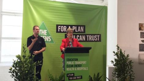 I just want to congratulate you all. There have been over 100 K doors knocked on & 30K phone calls made (Via Victorian Greens Twitter)
