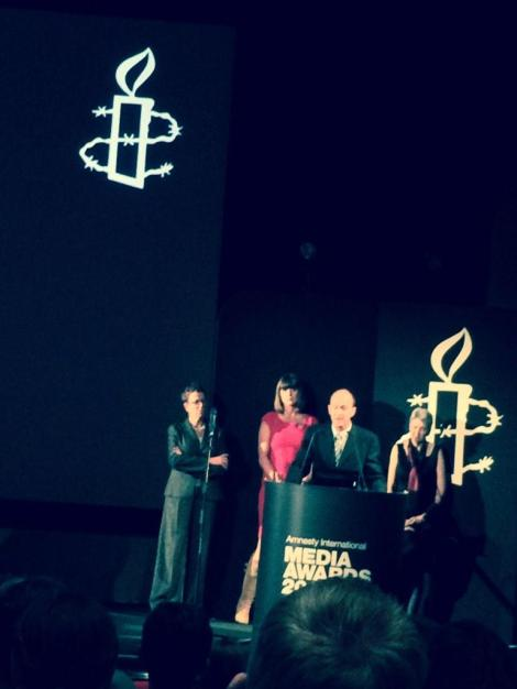 "12 November: Most memorable line at Amnesty's media awards - Peter Greste's brother: ""I'm just a cotton farmer..."". #FreeAJStaff kristyan benedict (Via @KreaseChan Twitter)"