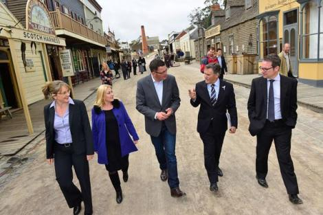 Labor will upgrade Sovereign Hill exhibits to boost tourism and jobs (Via Daniel Andrews Twitter)