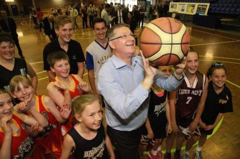 $15M Wendouree Sports & Events Centre expansion under re-elected Vic Coalition (Via Vic Premier Twitter)