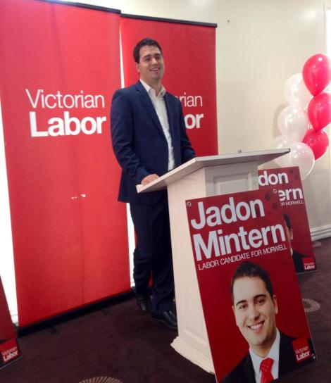"@JadonMintern on the Latrobe Valley: ""this is home for me & I want to make it better"" (Via Harriet Shing Twitter)"