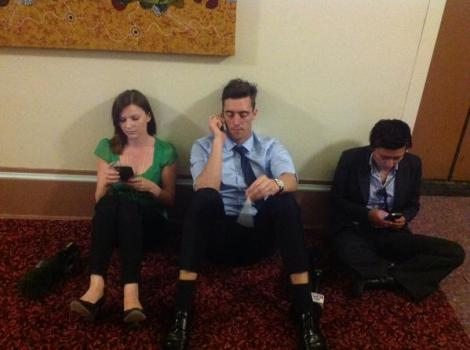 4th round of counting underway for liberal leadership. Media restless (Via Annika Smethurst Twitter)