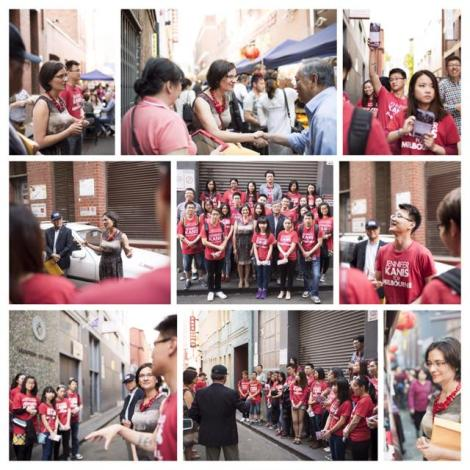 I had a great time at Chinatown Night Market last night with Hong Lim MP and our volunteers. (Via Jennifer Kanis Twitter)
