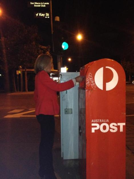 Late night voting (Via Fiona Patten Twitter)