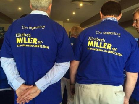 Fantastic Liberal Victoria Volunteers & Supporters rally this morning. Thanks Team Bentleigh! (Vic Elizabeth Miller MP Twitter)