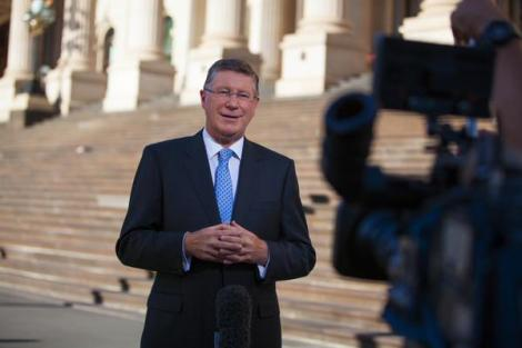 "Vote for ""a Coalition Govt that has rebuilt the economy.""-Premier @7NewsMelbourne (Via Denis Napthine Twitter)"