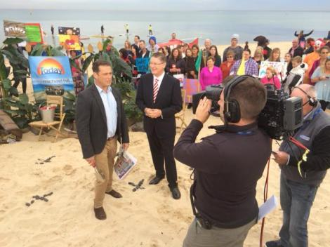 """""""It's about who Victorians can trust to  grow the economy""""-Premier on The Today Show (Via Vic Premier Twitter)"""