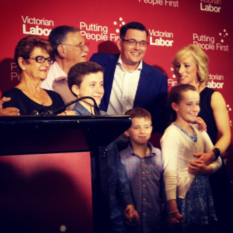 Thank you for this great honour, Victoria. I won't let you down. (Via Daniel Andrews Twitter)