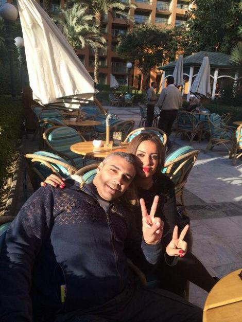 """Free Sunshine @CairoMarriott Where it all started with my better half Marwa Omara "" till death do us part"" #Thankyou"" via Mohamed Fadel Fahmy Twitter"