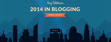 Blogging annual report image