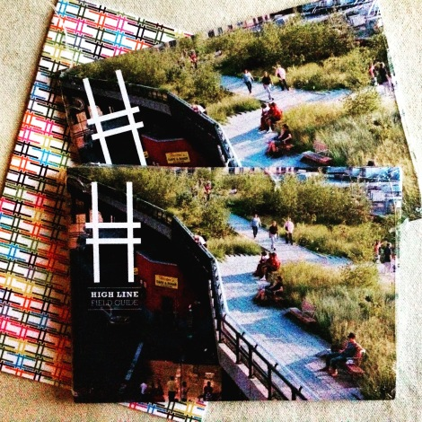 The High Line Field Guide (Photo: Amy Feldtmann)