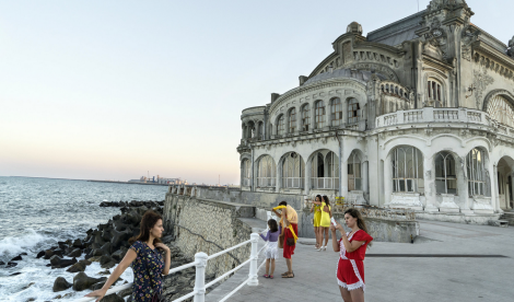 Constanta, Romania. Completed before World War I, the Constanta Casino fell into ruin when the Soviet Union collapsed. Now the European Union is funding a restoration (Photo: George Georgiou)