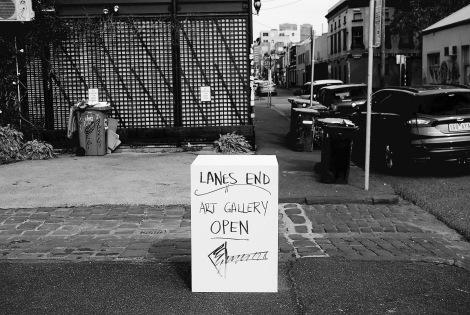 Cubist art, off Brunswick Street, Fitzroy