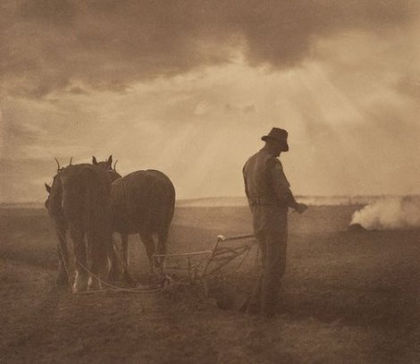 Peace after war and memories (1918). By Harold Cazneaux.