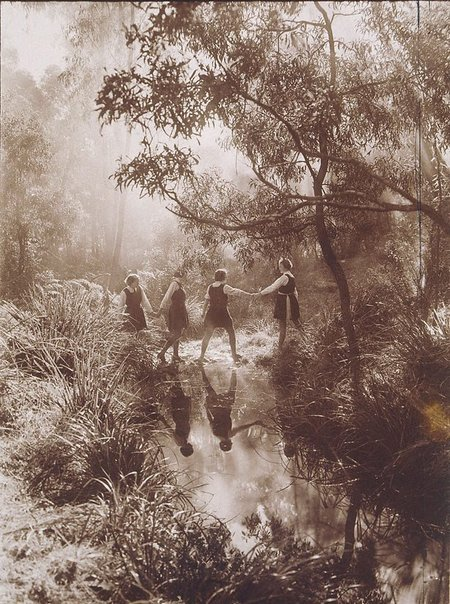 The Crossing, Frensham School, Mittagong (1934). By Harold Cazneaux.