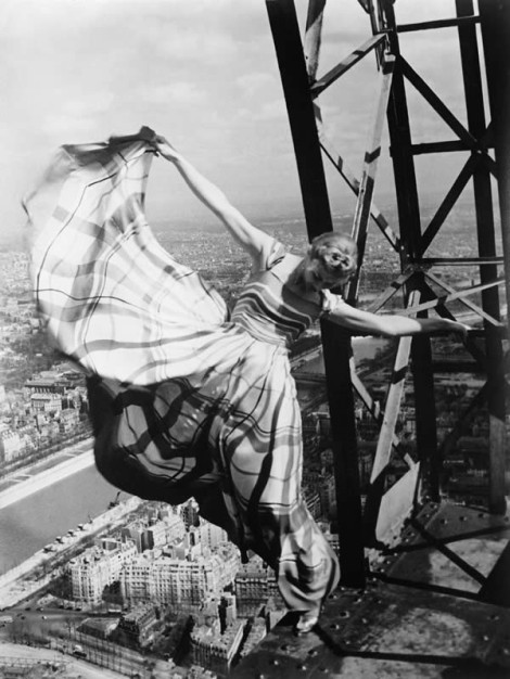 Eiffel Tower, Vogue Portfolio(1939). By Erwin Blumenfeld.