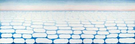 Sky above Clouds IV (1965). By Georgia O'Keeffe.